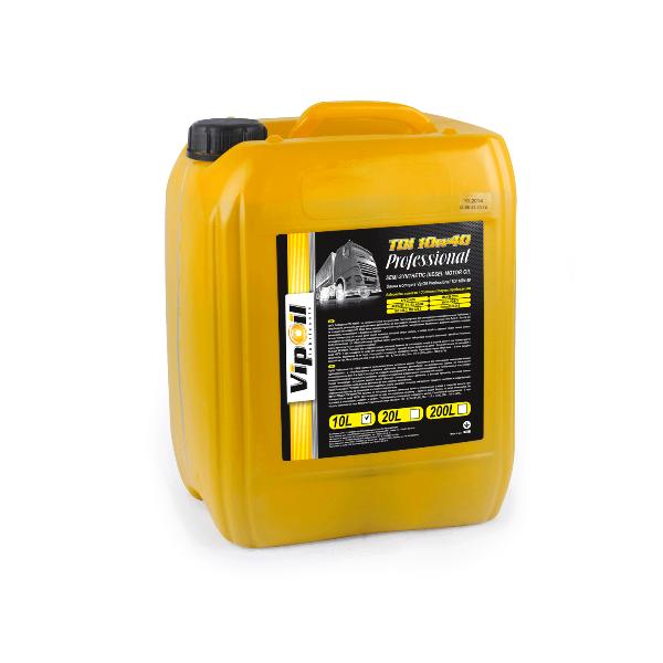 Моторное масло VipOil Professional TDI 10W-40 10л