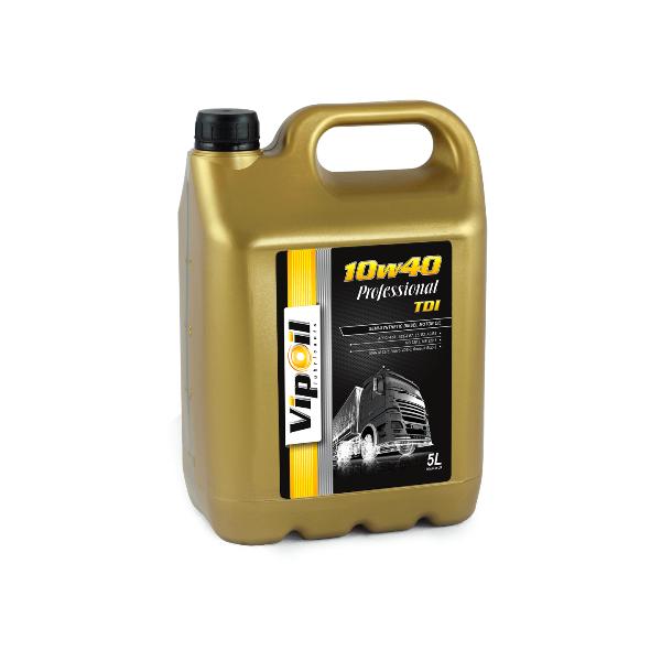 Моторное масло VipOil Professional TDI 10W-40 5л