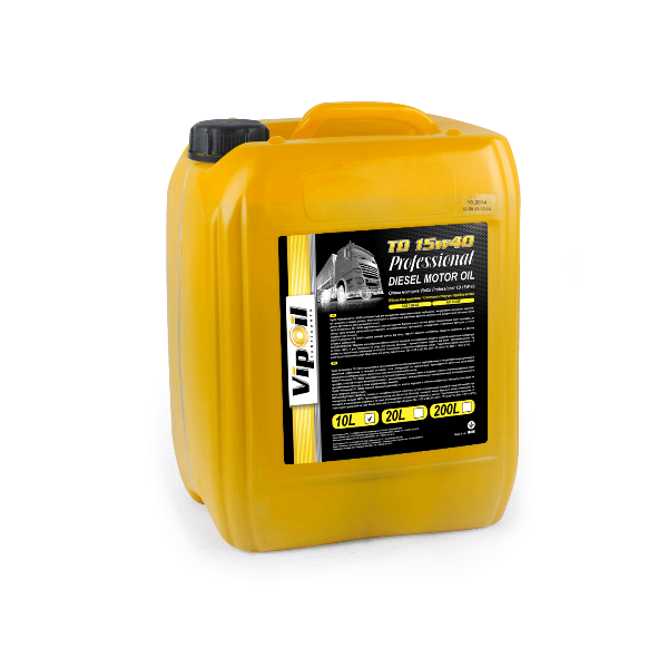 Моторное масло VipOil Professional TD 15W-40 10л