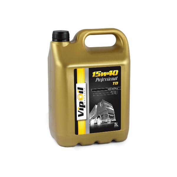 Моторное масло VipOil Professional TD 15W-40 5л