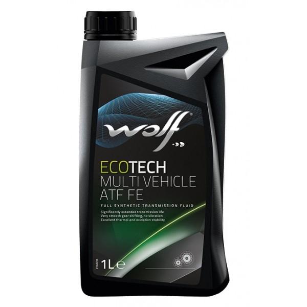 Трансмиссионное масло Wolf Ecotech Multi Vehicle ATF FE 1л
