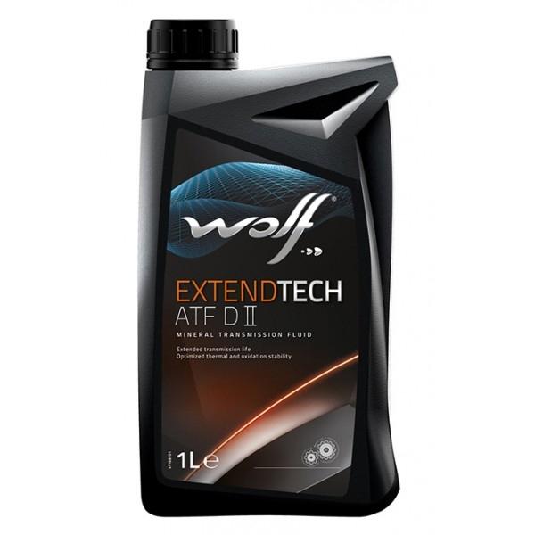 Трансмиссионное масло Wolf Extendtech ATF D II 1л