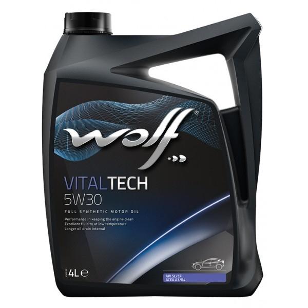 Моторное масло Wolf Vitaltech 5W-30 4л