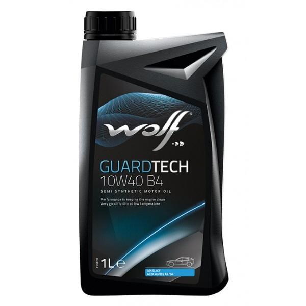 Моторное масло Wolf Guardtech 10W-40 B4 1л