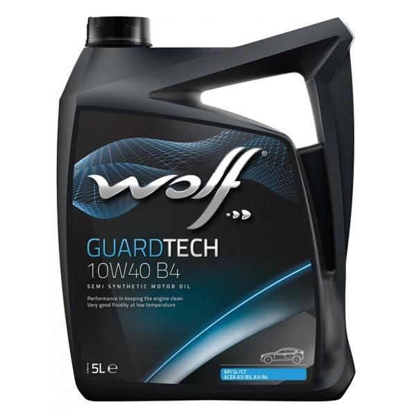 Моторное масло Wolf Guardtech 10W-40 B4 5л