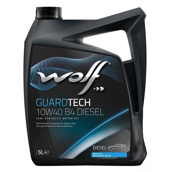Моторное масло Wolf Guardtech 10W-40 B4 Diesel 5л