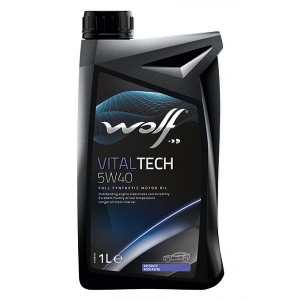Моторное масло Wolf Vitaltech 5W-40 1л