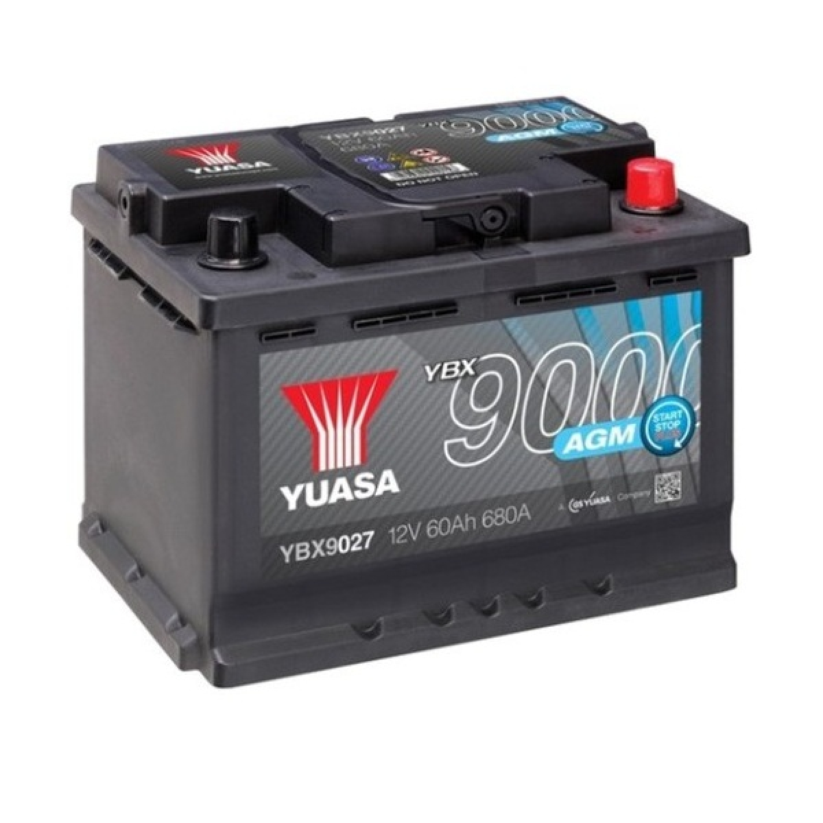 Yuasa AGM Start Stop Plus Battery 60Ah