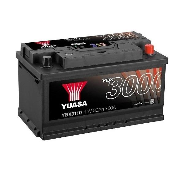 Аккумулятор Yuasa SMF Battery 80 Ah