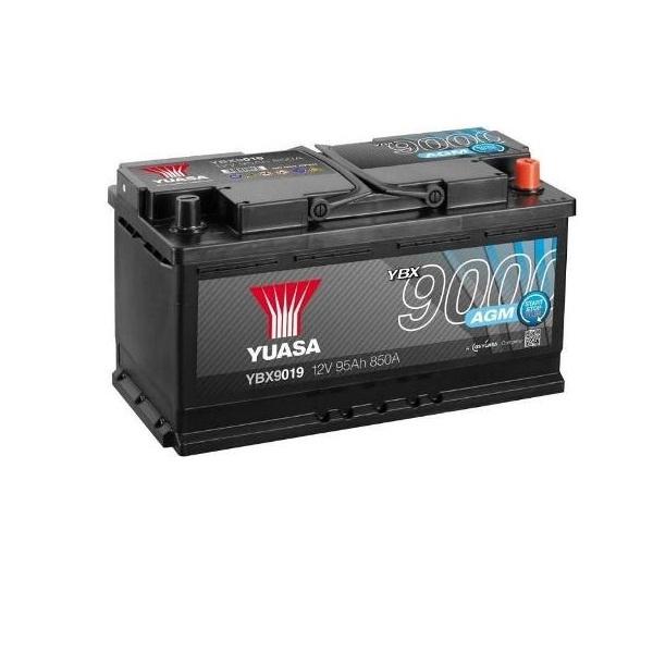 Yuasa AGM Start Stop Plus Battery 95 Ah
