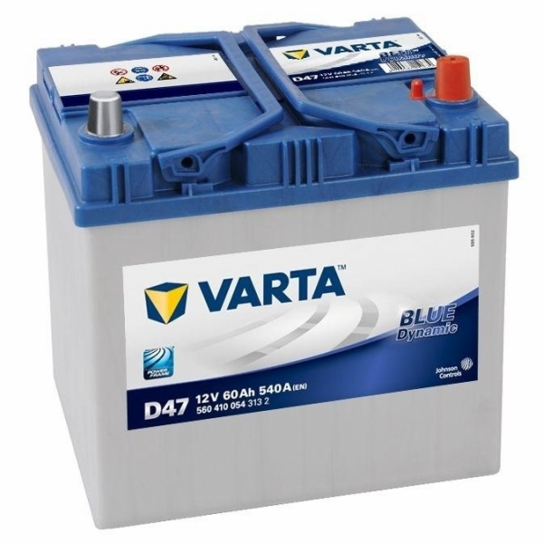 Аккумулятор Varta Blue Dynamic 60 Ah D47