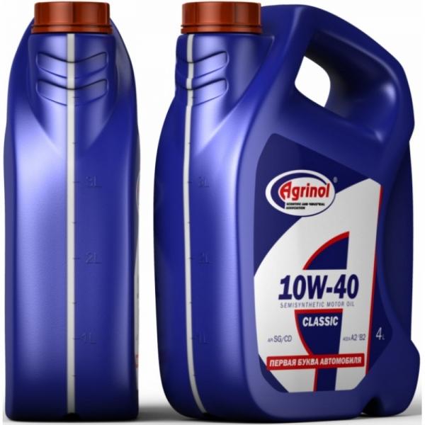 Моторное масло Агринол 10W-40 SG/CD 4л