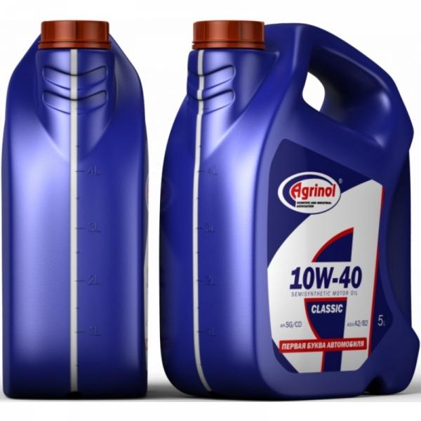 Моторное масло Агринол 10W-40 SG/CD 5л