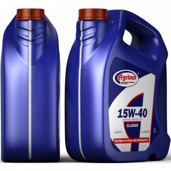 Моторное масло Агринол 15W-40 SF/CC 5л