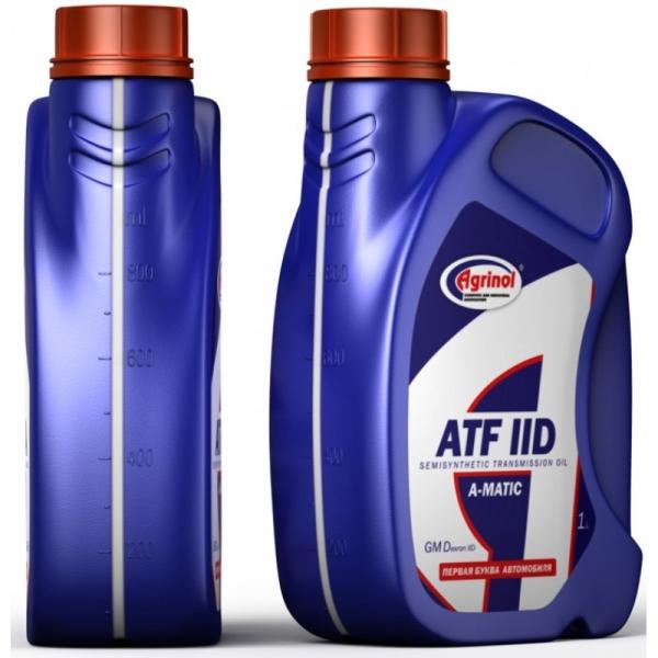 Трансмиссионное масло Агринол ATF IID 1л