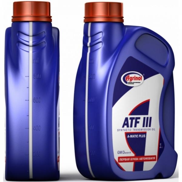 Трансмиссионное масло Агринол ATF III 1л