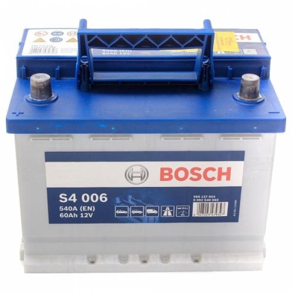 Аккумулятор Bosch 60Аh S4 006